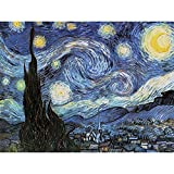 Reeves Paint by Number Artist's Collection, 12 by 16-Inch, Starry Night