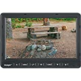 "Voyager VOM74TQ 7"" LCD Observation Monitor, Capacitive touchscreen, LED illumination, Back-lit controls, Integrated audio speaker, 4 camera inputs (only camera 3 supports audio), Dimensions 7.0W x 4.7"