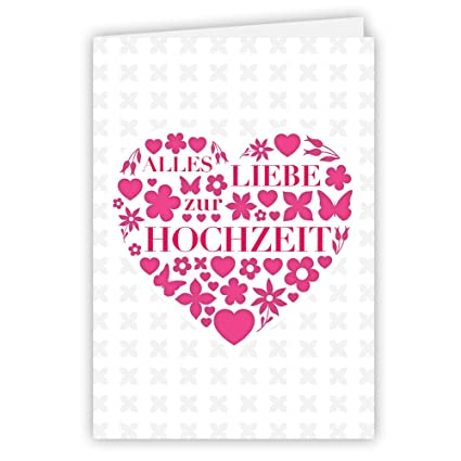 etmamu 6 tarjeta de felicitación todo Amor Bodas, incluye ...