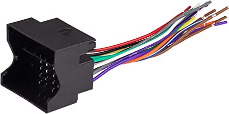 Scosche VW03B Wire Harness to Connect an Aftermarket Stereo Receiver on jaguar wiring, dodge wiring, cadillac wiring, subaru wiring, beetle light switch wiring, triumph wiring, john deere wiring, bmw wiring, corvette wiring, jeep wiring,