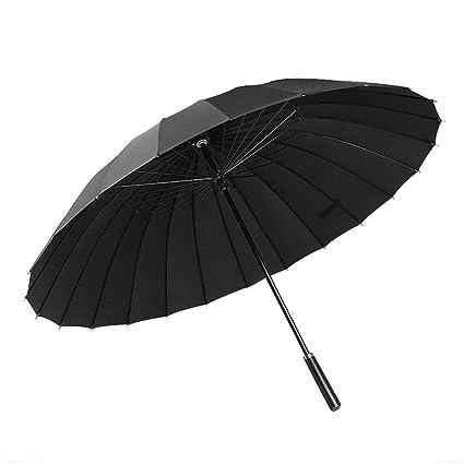 T.Kerry Largo Paraguas Caballero Señoras Paraguas De Comercio Largo Paraguas De Fibra De Vidrio