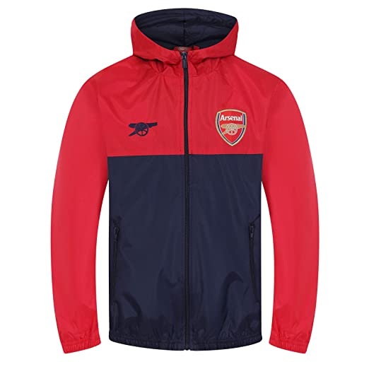 Arsenal FC Official Football Gift Boys Shower Jacket Windbreaker 6-7 Years SB