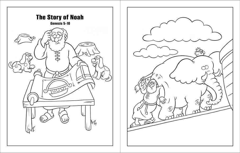 - The Beginner's Bible Coloring Book: Zondervan: 0025986759551: Amazon.com:  Books