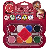 Best RUBIE'S Face Paints - Ruby Red Face Paint Kit, Classic Review