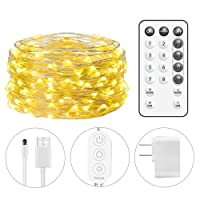 Deals on Minger Govee 33-Ft USB String Light 100 LEDs 8 Scence Modes