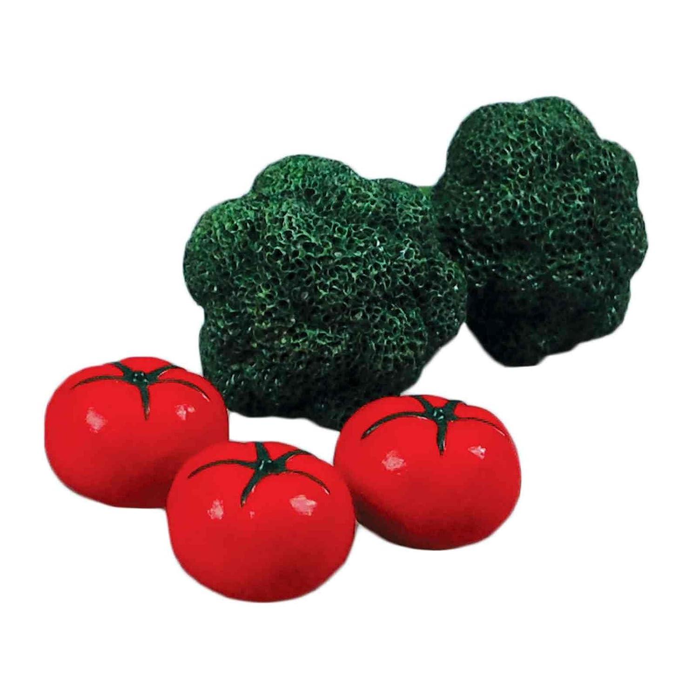 "Food Accessories Fits American Girl Farm Fresh 18/"" Doll Broccoli /& Tomatoes"