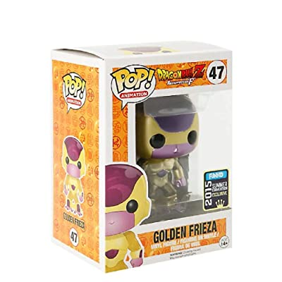Funko Pop Vinyl Dragonball Z Golden Frieza - 2015 Summer Convention Exclusive: Toys & Games