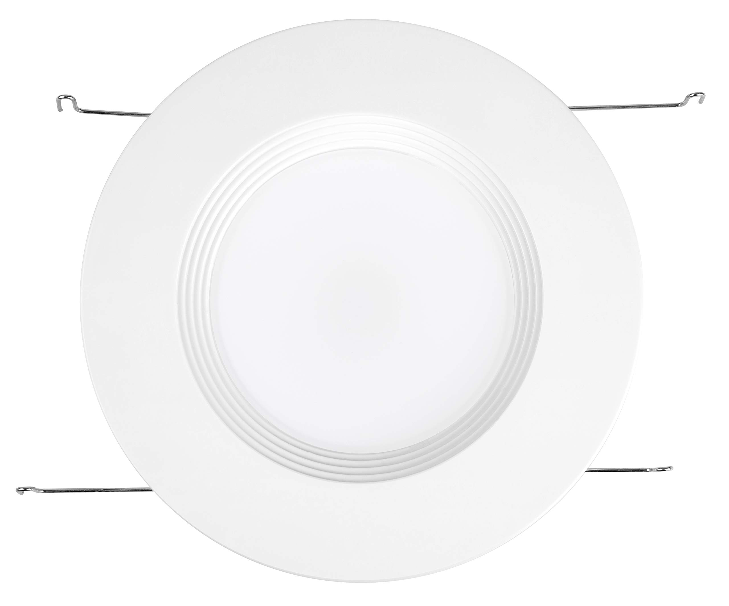 """Hyperikon 6"""" LED Recessed Lights (5 Inch Compatible) 14W Downlight Dimmable (75W Equiv.) LED Retrofit Lighting Fixture, Ceiling Recess Can Lights, Halo Retrofit Baffle Trim, 3000K, CRI84, UL (16 Pack) by Hyperikon (Image #5)"""