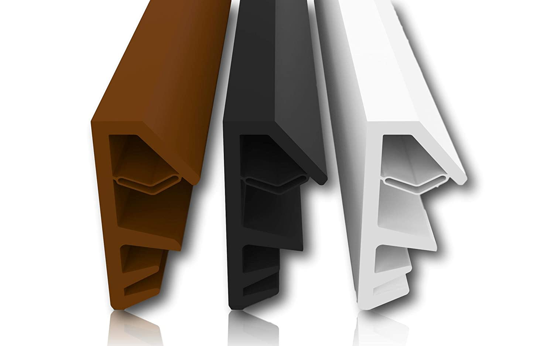 Madera Ventana Junta con antidehnungs hilos–4mm Anchura–12mm pliegue–con ausr eiß Puente–Rápido y fácil de instalar alta calidad Junta de goma Junta par