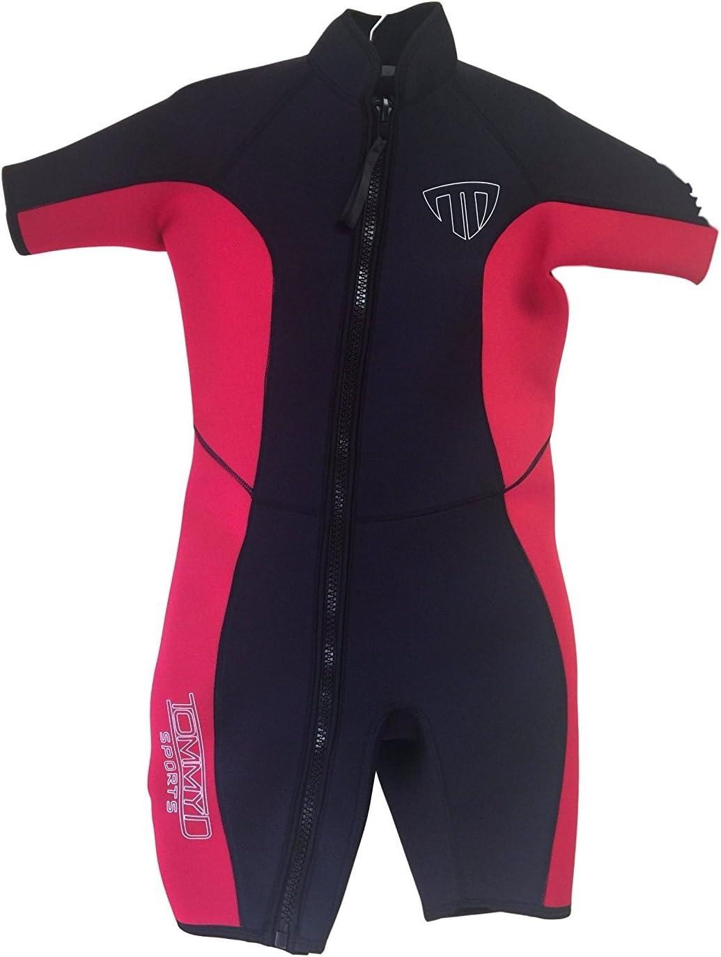 レディースショートウェットスーツ – ジップオフフロントジッパー – 2200  Large