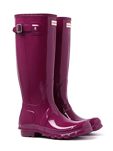 Hunter Damen Wmn ORG Tall Gloss Gummistiefel, Violett (Violet Rvi), 40/41 EU