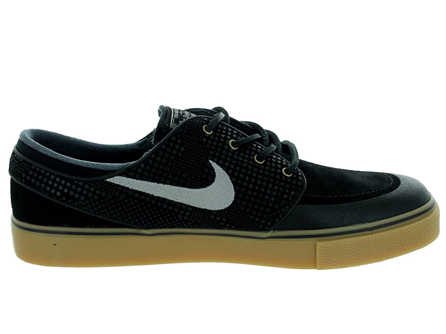 Nike Men s Zoom Stefan Janoski PR SE Skate Shoe Blk/Mdm Gry/Gm Lght Brwn/ Anthr 8 D(M) US: Buy Online at Low Prices in India - Amazon.in