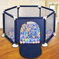 Dream-cool Zaun für Kinder Kinderspiel Faltbarer Zaun Outdoor sechsseitiger Sicherheitszaun Bunte Bälle Pool Zelt Spielhaus Spielzaun Kinder Baby Indoor Outdoor Spielstall