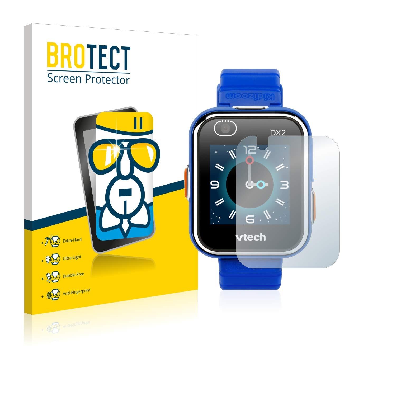 BROTECT Protector Pantalla Cristal Compatible con Vtech Kidizoom Smart Watch DX2 Protector Pantalla Vidrio Dureza 9H AirGlass