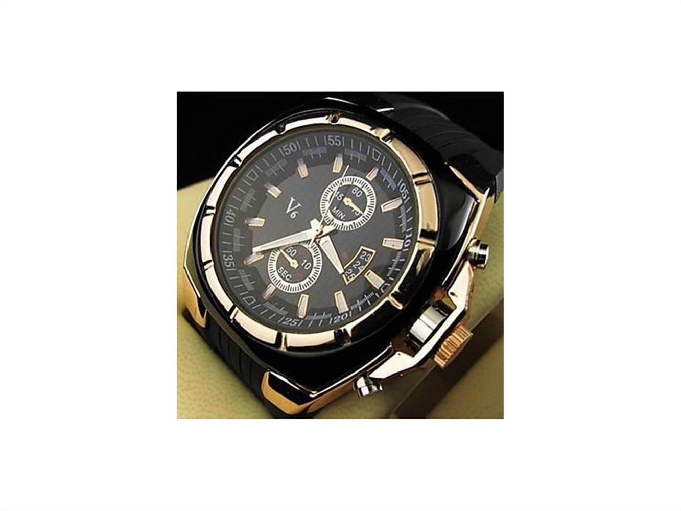 HOUHOUNNPO Modische Uhr V6 authentische V0048 Uhr Herren Pers/önlichkeit Outdoor-Sport Freizeituhr