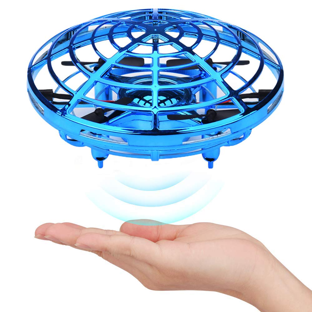 Hand Operated Drones for Kids or Adult, Mini Drone Flying Ball Toy, Scoot UFO Hand Free Infrared Sensing Drone Toys for Boys and Girls Holiday and Birthday Gifts by Nice Dream (Image #2)