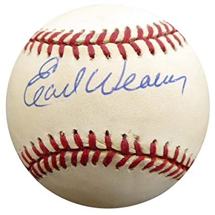77c72cfae1e Image Unavailable. Image not available for. Color  Signed Earl Weaver  Baseball - Official ...