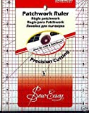 Pandoras Upholstery Sew-Easy Quilters Patchwork Ruler Square 6.5'' X 12''