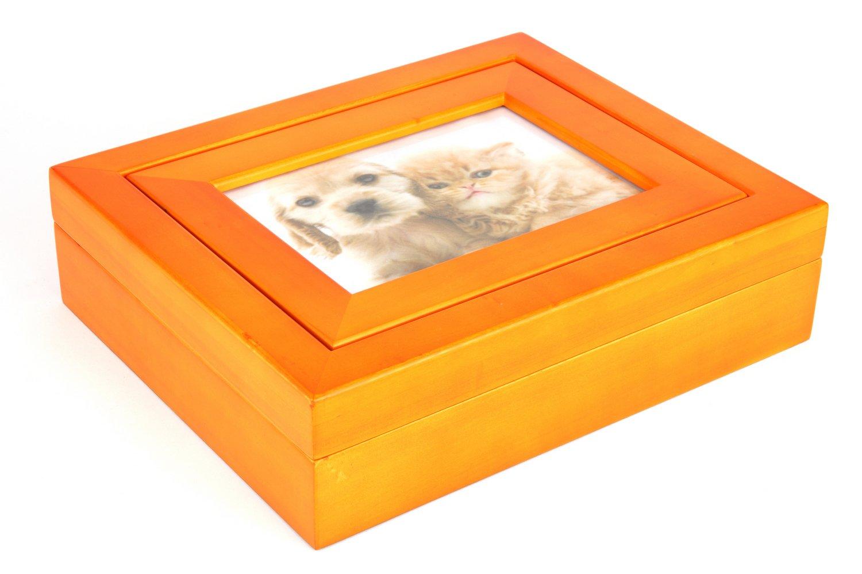 Urns UK Stafford Urne für Haustiere, aus Holz