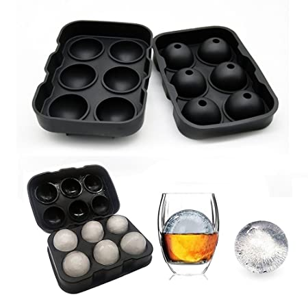 DIY Whiskey Ice Cube Ball Durable Silicon Maker Mold Hockey Mould Party Tray
