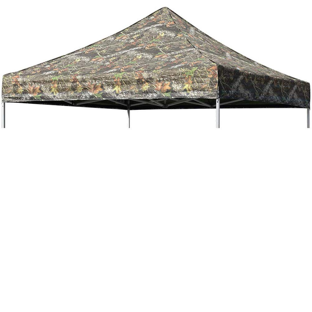 Eurmax New Pop up 10x10 Canopy Replacement Instant Ez Canopy Top Cover (Camouflage)