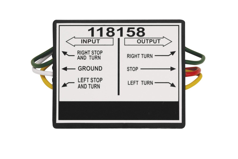 Tekonsha 118158 2 to 3 Taillight Converter on
