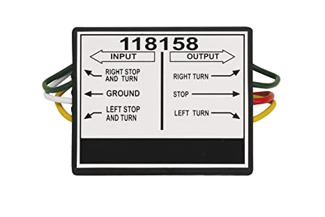 Amazon.com: Tekonsha 118158 2 to 3 Taillight Converter: Automotive on 2009 f250 7 pin electrical diagram, seven pin trailer wiring diagram, ford f150 wiring diagram, 7 round trailer plug diagram, 7 pin connector diagram, ford glow plug relay wiring diagram, ford diesel glow plug wiring diagram, 7 pin tow plug diagram, 7 pin rv wiring diagram, 7-wire tow connector diagram, ford f250 trailer plug wiring diagram, 7 spade trailer wiring diagram, 7 flat wiring diagram, hopkins 7 pin wiring diagram, ford 7 pin trailer harness diagram,