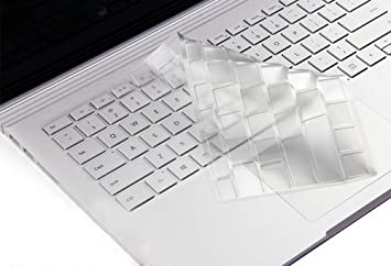 Amazon.com: Funda protectora para teclado transparente de ...