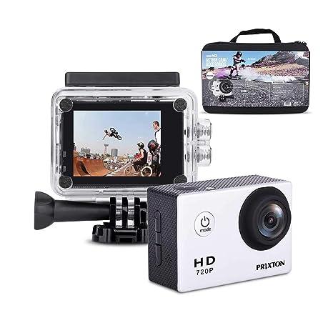 PRIXTON DV609 + Accesorios Camara Outdoor: Amazon.es: Electrónica