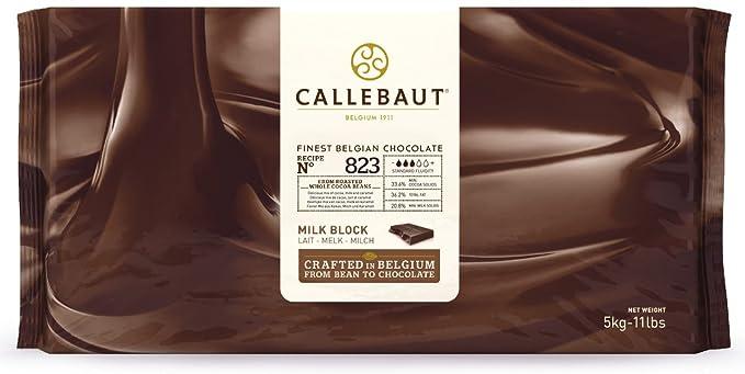 Callebaut 33,6% Bloque de Chocolate con Leche (pack) 5kg