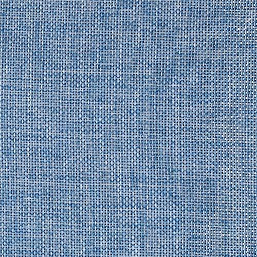 burlap fabric blue - 4