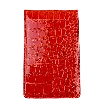 crestgolf piel sintética soporte para tarjeta de puntuación de ...