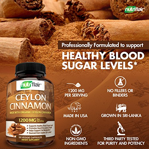 10 Best Organic Cinnamon Images On Pinterest: NutriFlair Ceylon Cinnamon (made With Organic Ceylon