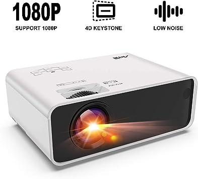 Amazon.com: Mini proyector - Artlii Enjoy Proyector portátil ...