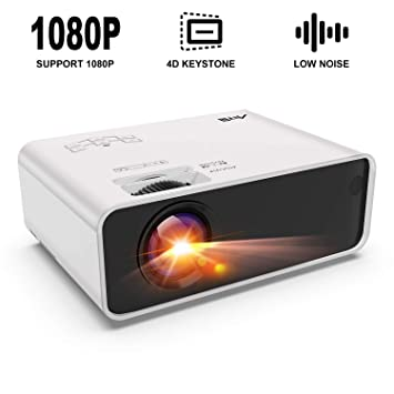 Artlii Proyectores, Proyector HD de 3500 Lúmenes, soporta 1080p ...