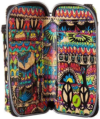 Sakroots Smartphone Circle One World Convertible Wristlet Cross Artist Bag Body Radiant UxFwUfq4r