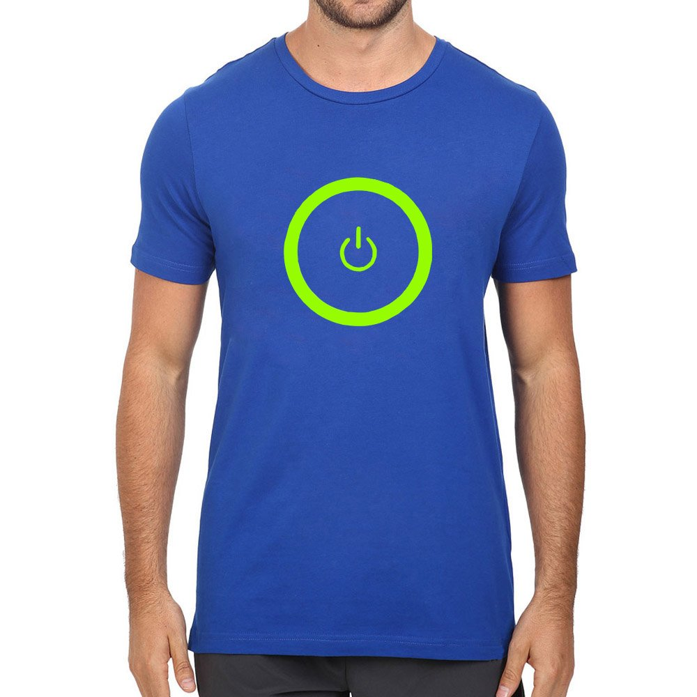 Loo Show Gaming Power Button Crew T Shirt Tee