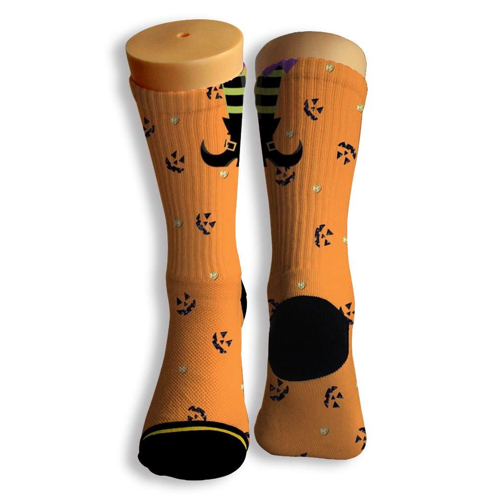 Basketball Soccer Baseball Socks by Potooy Horrible Halloween Doodle 3D Print Cushion Athletic Crew Socks for Men Women
