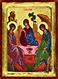 Rublev's Trinity Greek Painted Icon
