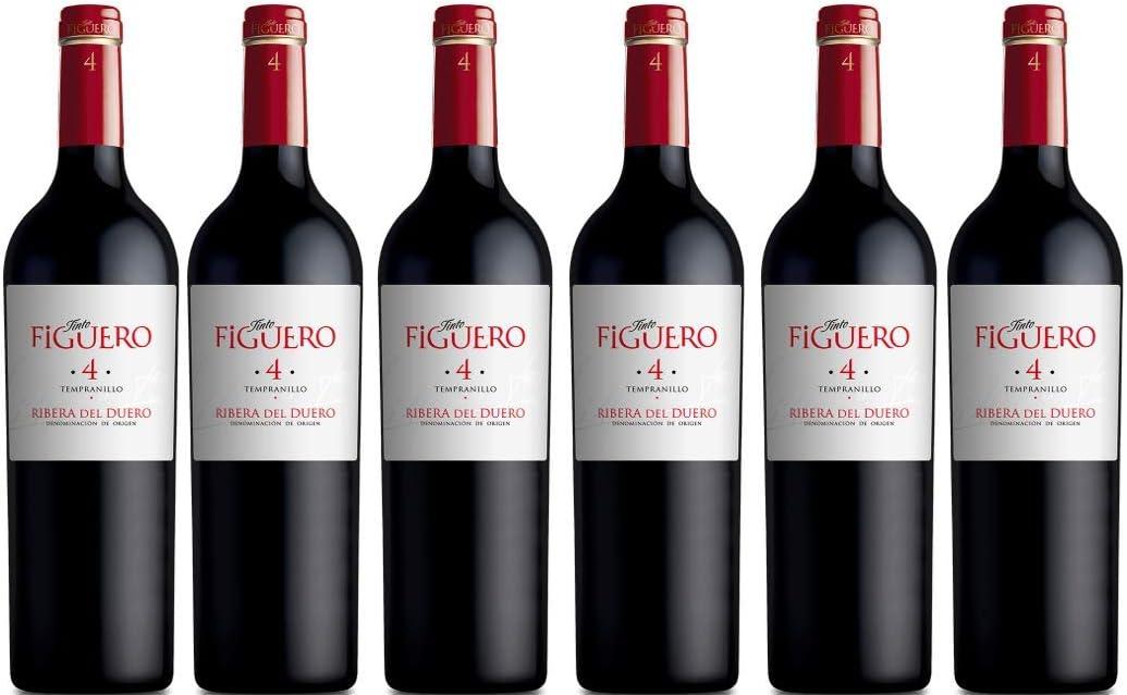 Vinos Figuero (Figuero 4,Vino tinto,Vino ribera del duero, 4500ml)