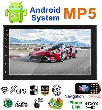 Oshide Sistema Android 8.1 Memoria 16G Botón táctil 7IN HD Coche ...