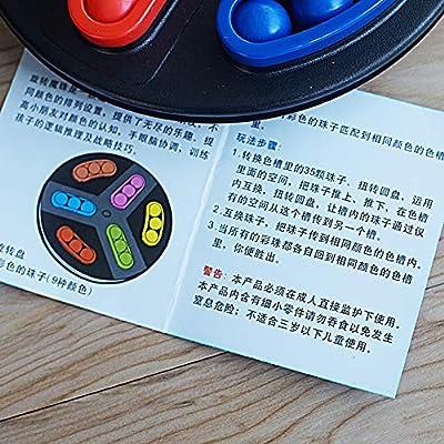 Meiyiu Juego de Mesa Educativo para niños Laberinto Entrenamiento ...
