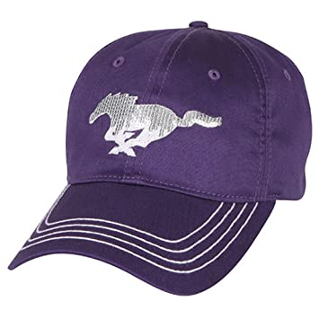 genuine ford mustang women ladies sequin pony purple baseball cap hat red gold caps assortment