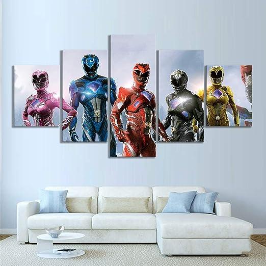 Power Rangers Wall Decal 3D Art Stickers Vinyl Room Home Bedroom 1