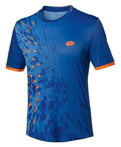 Lotto Blast tee - Camiseta para Hombre, Color Azul, Talla L: Amazon.es: Zapatos y complementos
