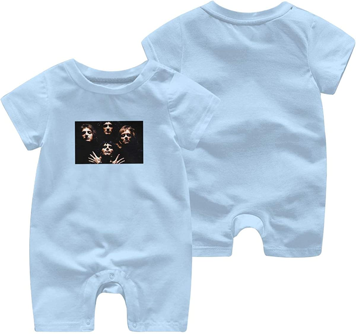 Cotton Newborn Cute Jumpsuit Queen Rock Band Print Design Baby Onesies