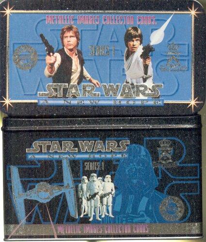 Metallic Images (Star Wars A New Hope Metallic Images Collector Cards Tin Set Series 1)