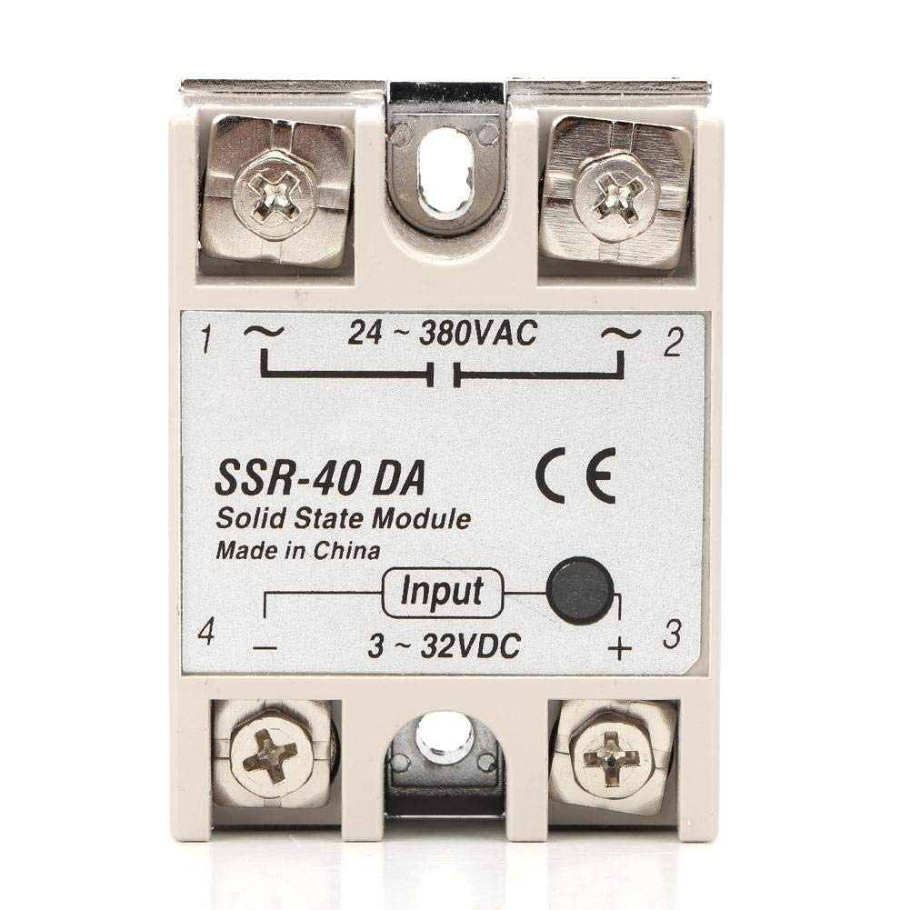 Temperature Controller 40A Solid State Relay PID REX-C100 Temperature Controller K Thermocouple GD