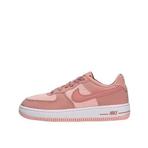 cheap for discount c1cb0 de35d Nike Mädchen Force 1 Lv8 (PS) Fitnessschuhe, Mehrfarbig Rust Storm  Pink/White