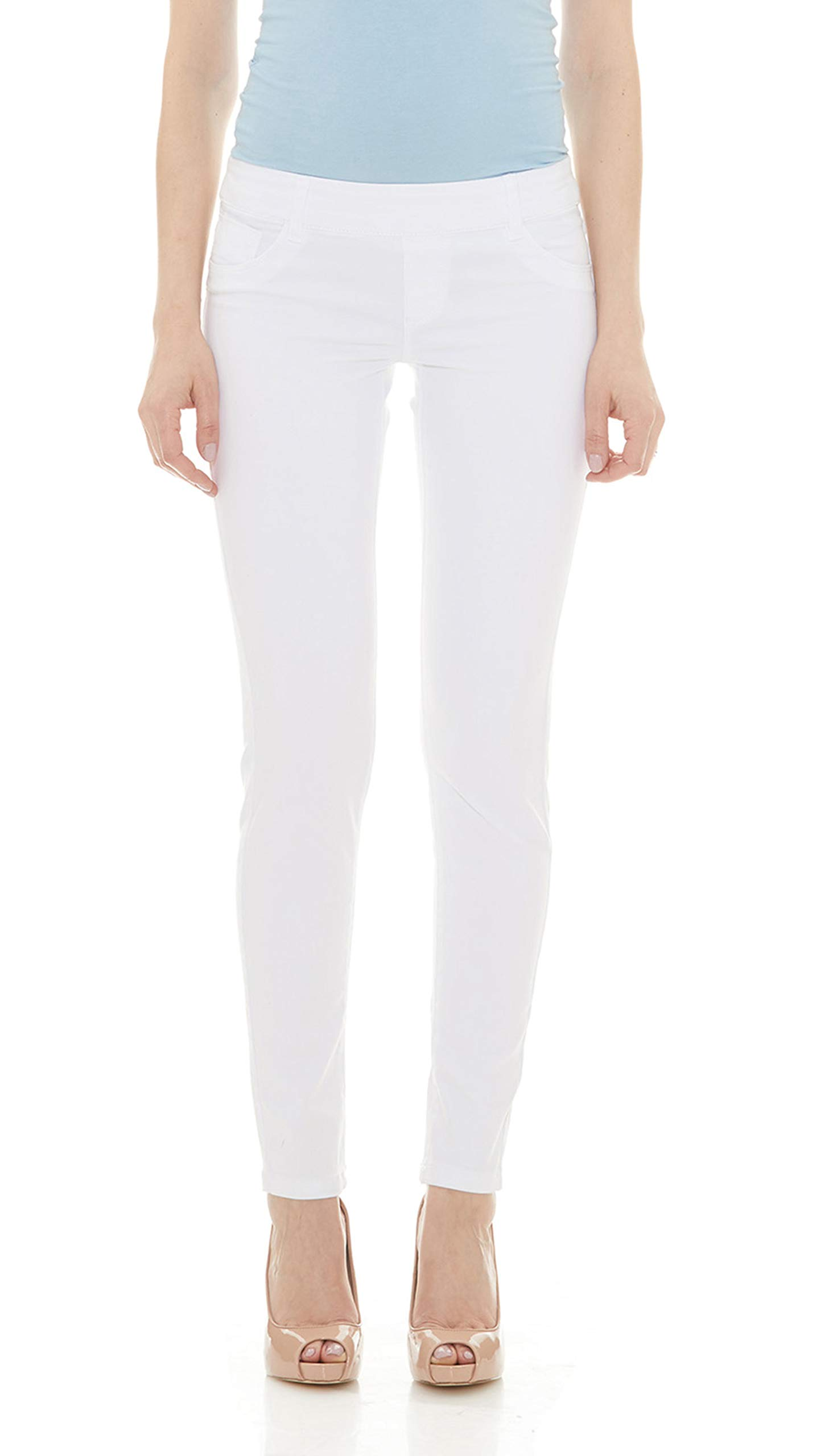 f1b60e17 Suko Jeans Women's Skinny Pants Pull On Jean Stretch Denim product image